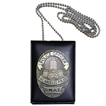 Harga TP Cosplay Collection La Police Swat Officer Badges Card IDCardsholder 1:1 Gift - intl