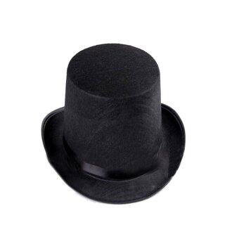 Harga Innturt Black Victorian Mad Hatter Top Hat Vivi Magic Hat Performing Cap