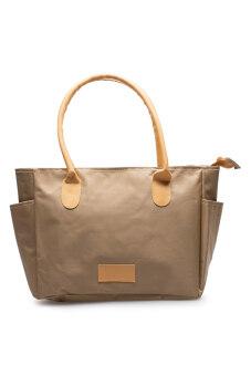 DM กระเป๋าสะพาย C4 (สีเบจ)