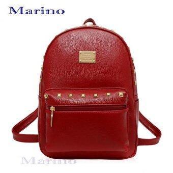 Marino กระเป๋า กระเป๋าสะพาย กระเป๋าเป้สะพายหลัง กระเป๋าเป้สำหรับผู้หญิง รุ่น 2012 - Red