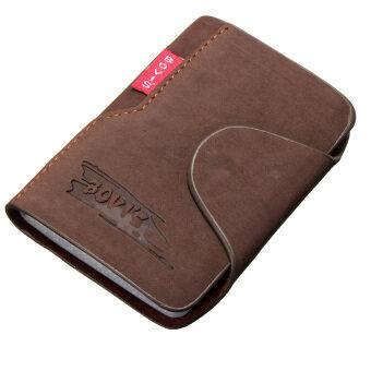 ธุรกิจบัตรเครดิตคนทำหนังกระเป๋าถือกระเป๋าสตางค์กระเป๋าสะพายประจำมินิ 20 ช่องกาแฟแสง