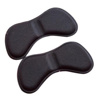 2ชิ้นผ้ารองเท้าส้นเท้าติดแผ่นรองแทรกย้อนกลับ Insoles DXHS จับดินสอ
