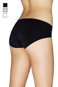 Hotdeal กางเกงชั้นในแนบเนื้อไร้ขอบ Seamless Thin Panties set 3 ชิ้น - สีขาว/ดำ/เนื้อ