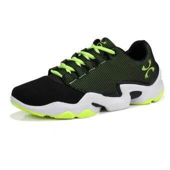 รองเท้าวิ่งรองเท้ากีฬา 2016 คนรองเท้าบาสเกตบอล (สีเขียว)