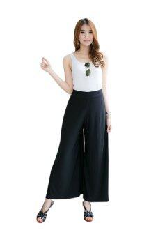Fashionstory กางเกงทรงกระโปรง (สีดำ)