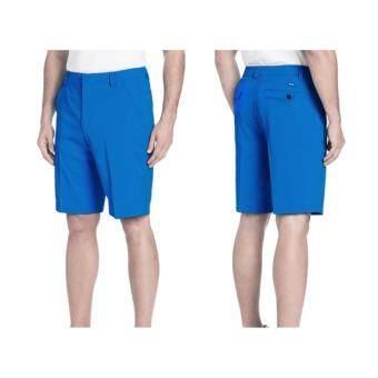 EXCEED MEN GOLF SHORT PANTS (BLUE) กางเกงกอล์ฟขาสั้น สีฟ้า (PGM KUZ011)