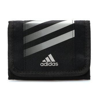 ADIDAS กระเป๋าสตางค์ รุ่น STRIPES WALLET - V87038-NS (BLACK)