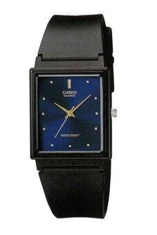 Casio Standard นาฬิกาข้อมือผู้ชาย สีดำ สายเรซิ่น รุ่น MQ-38-2ADF