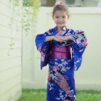 Princess of Asia ชุดกิโมโนญี่ปุ่นเด็ก (สีเงิน)