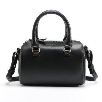 Little Bag กระเป๋าถือ กระเป๋าแฟชั่น กระเป๋าสะพายพาดลำตัว รุ่น LB-058 (สีดำ)
