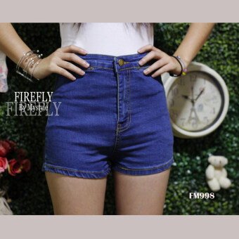 FIREFLY กางเกงยีนส์ขาสั้น เอวสูง สวยๆ รุ่น FM998
