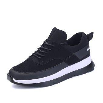 ฤดูร้อนปลายรองเท้าสตรี LBW ผ้าหนารองเท้ากีฬากลางแจ้งสี (สีดำ & ขาว)