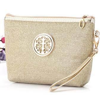 MATTEO กระเป๋าผู้หญิง กระเป๋าถือผู้หญิง กระเป๋าถือแฟชั่นผู้หญิง 1638Gold