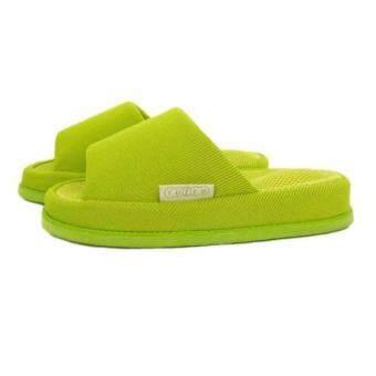 Refre OKUMURA Slippers รองเท้านวดเพื่อสุขภาพ สีเขียว Size M (35-39)