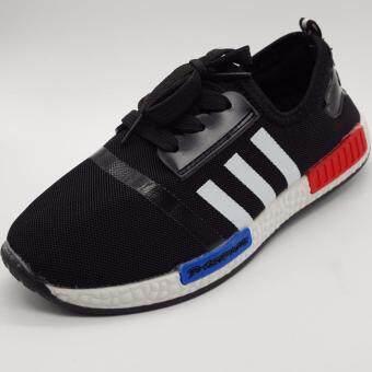 Alice Shoe รองเท้าผ้าใบ แฟชั่นเด็กผู้ชาย และ ผู้หญิง รุ่น SKL081-BK (สีดำ)