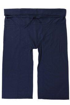 Princess of asia กางเกงเล กางเกงขาก๊วย กางเกงสะดอ (สีกรมท่า)