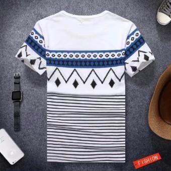 Save เสื้อยืดแฟชั่น สกรีนลายไทย (สีขาว) รุ่น X05