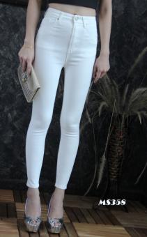 Platinum Fashion กางเกงยีนส์ขายาวเอวสูง ทรงสกินนี่ รุ่นMS358