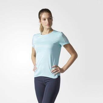 Adidas เสื้อ คอกลม อาดิดาส Women T-Shirt Response SS TEE BP7462 LBL(790)