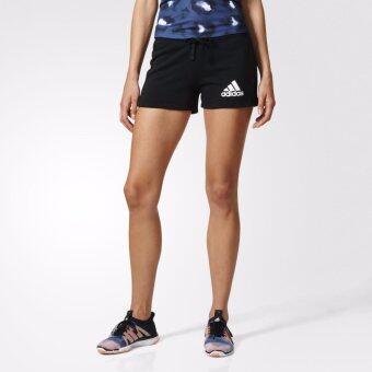 ADIDAS กางเกง อาดิดาส Women Run Short ESS Solid B45780 BK(850)