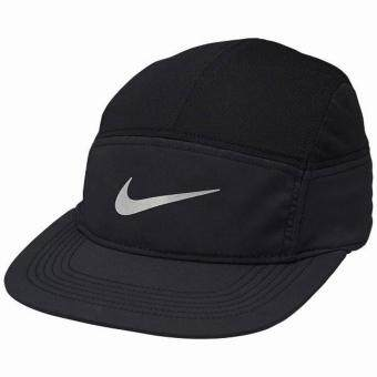 Harga Nike หมวกแก็ป Nike AW84 Zip Running Cap 778363-010 (Black)