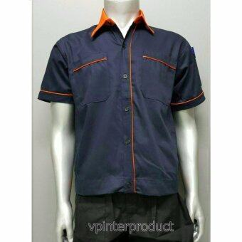 เสื้อวิศวะ เสื้อทำงาน เสื้อช็อป Size M รอบอก 42 นิ้ว