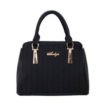 กระเป๋าถือ กระเป๋าสะพาย ผู้หญิง รหัส.69301 (สีดำ)