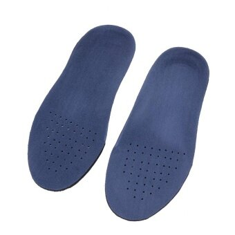 Harga EVA Flat Foot Arch Support Orthopedic Insoles Foot Care for Men and Women (Blue) (XS) - intl