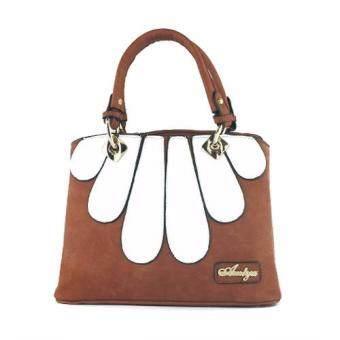 กระเป๋าถือ กระเป๋าสะพาย ผู้หญิง รหัส.69265-1 (สีน้ำตาล)