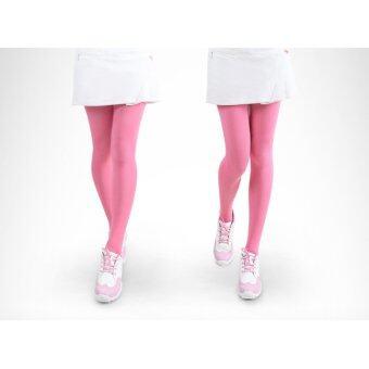 EXCEED LEGGINGS LADY PGM PINK COLOUR กางเกงเลคกิ้ง (KUZ014) สีชมพู