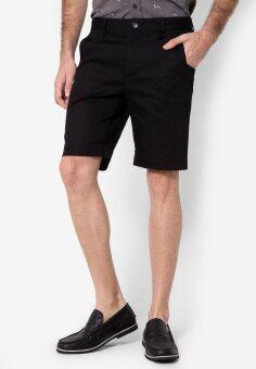B&B menswear & Fashion กางเกงขาสั้น Chino (Black)