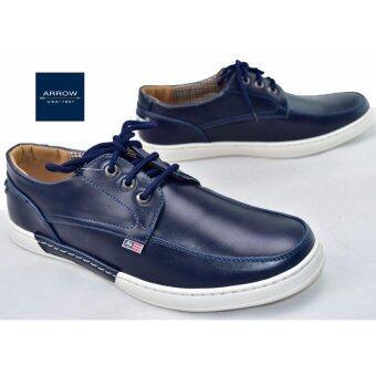 ARROW รองเท้าหนังผู้ชาย Limited edition รุ่น SMN090 (Navy)
