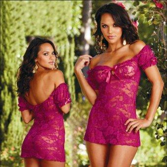 Harga MeiNiang Brand speed sell foreign trade Sexy Lingerie stretch sexy lace lace lingerie 7043 - intl