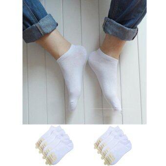 Student Sock KM-0010021 (White) 8 คู่