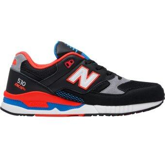 Harga NEW BALANCE MEN RUNNING SHOE BLACK M530BOA UK6.5-10.5 09'