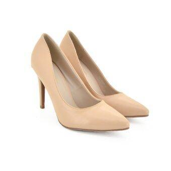 MARIE CLAIRE รองเท้าแฟชั่น ผู้หญิง คัทชูส้นสูง LADIES'HEELS PUMP CONTEMP สีเนื้อ รหัส 7518688