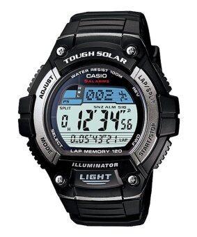 Casio Standard นาฬิกาข้อมือ รุ่น Solar Power W-S220-1A - Black