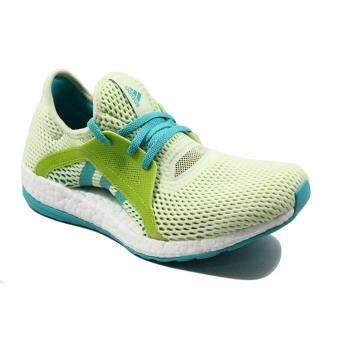 adidas รองเท้าวิ่ง PURE BOOST X รุ่น AQ6697 (Lime)