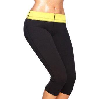 Sarabel--Body Shaper กางเกงเรียกเหงื่อ รุ่นใหม่ Hot Burn Shapers-M