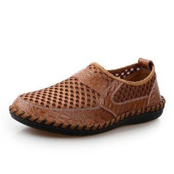 หายใจสบาย ๆ ของคนทำหนังคนปีนเขารองเท้าธุรกิจ Loafers