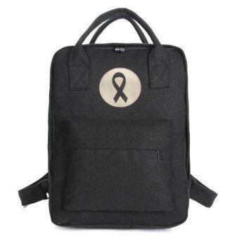 Marino กระเป๋า กระเป๋าเป้ กระเป๋าเป้สะพายหลัง ไว้อาลัย No.1170 - Black