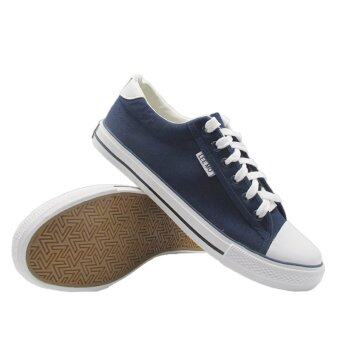 Alisa Shoes รองเท้าผ้าใบสปอร์ต รุ่น B888 Navy