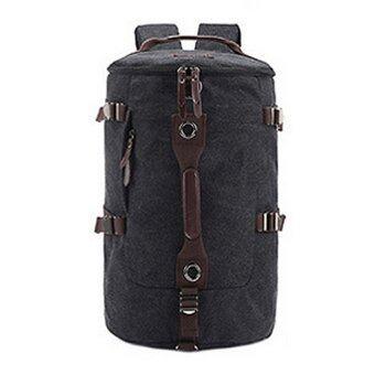 TR01-Black กระเป๋าเป้เดินทาง ผู้ชาย สีดำ กระเป๋าสะพายหลัง เป้สะพายหลัง