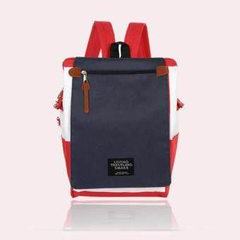 Marverlous กระเป๋า กระเป๋าเป้ Japan style Backpack NO.1123-สีแดง&สีน้ำเงิน