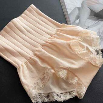 Munafie กางเกงสเตย์ญี่ปุ่นเก็บพุง ลดพุง กระชับสัดส่วน (สีครีม)