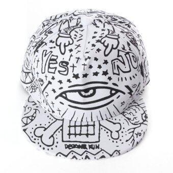 นิวแฟชั่นสตรีเพศชายใส่หมวกเบสบอล Snapback บีบอยปรับได้หมวกฮิปฮอป-ระหว่างประเทศ