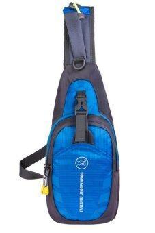 Matteo กระเป๋าสะพาย กระเป๋าผู้ชาย กระเป๋ากีฬา (สีฟ้า)