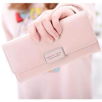 B'nana Beauty กระเป๋าสตางค์ใบยาว กระเป๋าเงินผู้หญิง กระเป๋าตังตามวันเกิด กระเป๋าสตางค์น่ารัก กระเป๋าตังสวยๆ รุ่น GC-10 (สีชมพู)