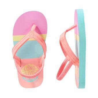 OSHKOSH รองเท้าแตะเด็ก ลาย Striped Surf