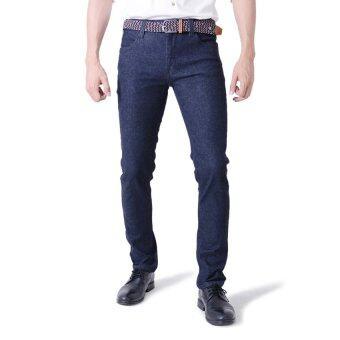 PHIL กางเกงยีนส์ระบายอากาศ - รุ่น DEK01MBK สีดำ